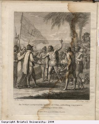 Picture of Amerindian in Cuba