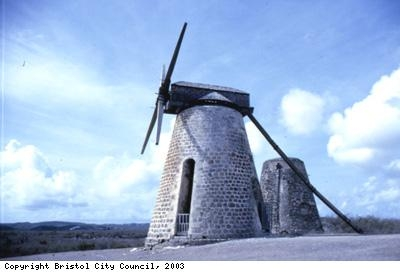 Antiguan windmill