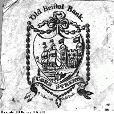 Old Bank logo from bank note