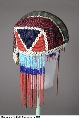 Beaded headdress