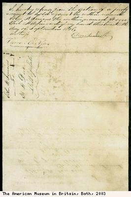 Bill of sale of slave, Cipo (reverse)