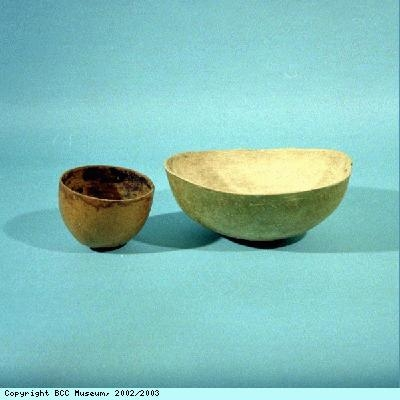 Bowls from Jamaica and St Kitts