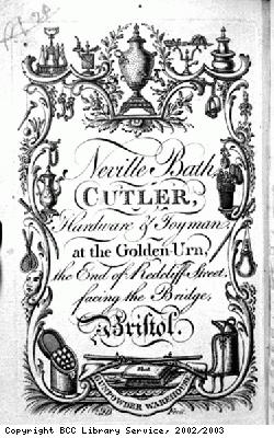 Catalogue title page