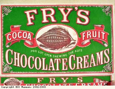 Wrapper, Frys Chocolate Creams