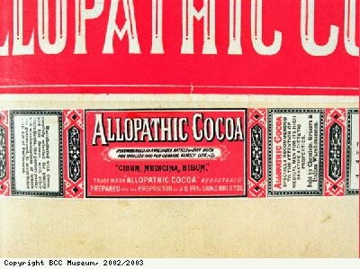 Wrapper, Allopathic Chocolate