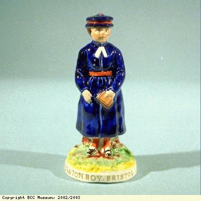 Figure of a Colston's School boy