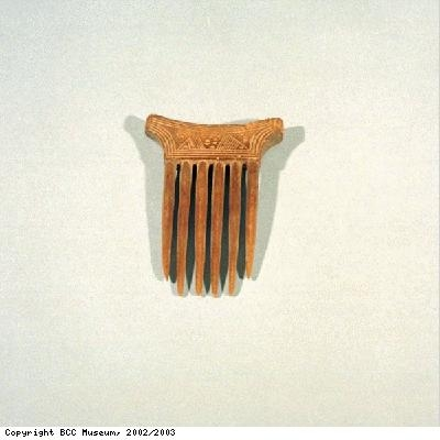 Comb from Baule people of Ivory Coast