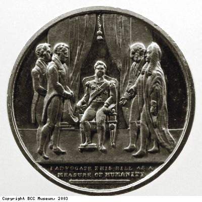 Commemorative Emancipation medallion