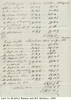 Compensation claims for freed slaves
