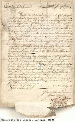 Orders for the purchase of a cargo of slaves