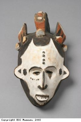 Dance mask from Igbo people of Nigeria