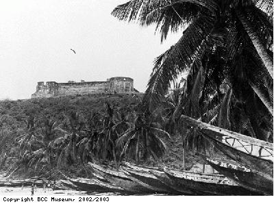 Dixcove trading fort, West Africa