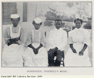 Domestic Barbadian servants