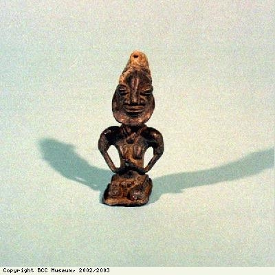 Edan figure of Ogboni Society from Yoruba people