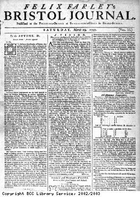 Felix Farley's Bristol Journal