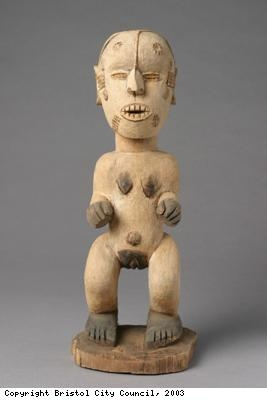 Figure, male wooden