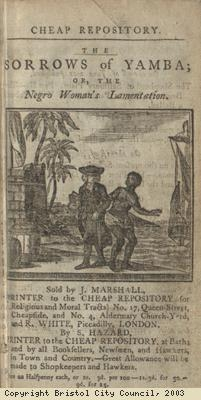 Frontispiece, The Sorrows of Yamba
