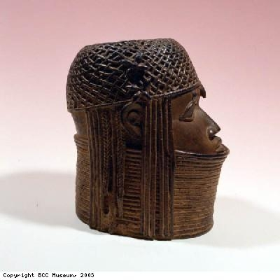 Head of an oba or king from Benin