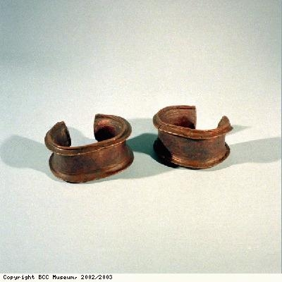 Idang anklets, probably from Igbo people