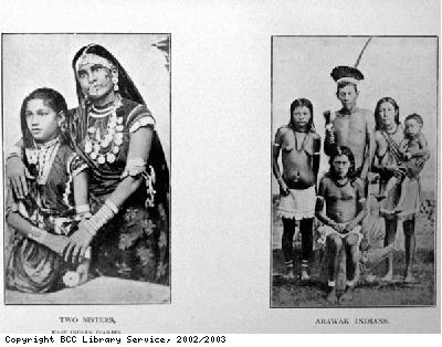 Indian Sisters and Arawak Family