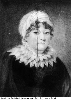 John Pinney's wife, Jane Weekes