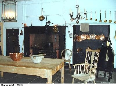 Kitchen in Georgian House