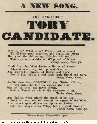Leaflet issued against Conservative candidate