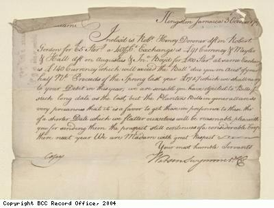 Letter to Rebecca Woolnough from William Swymmer