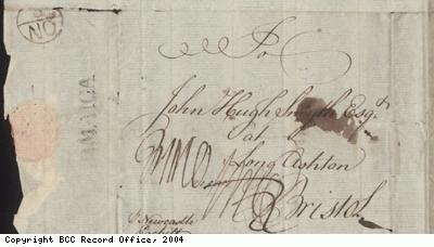 Letter detail, Hibberts and Jackson to Smyth