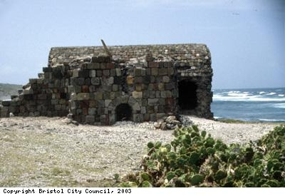 Lime kiln on Beach