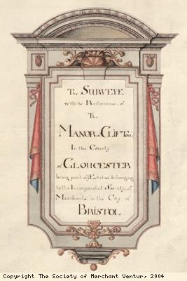Manor of Clifton titlepage