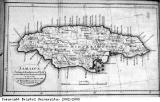 Map of Jamaica, 1808.