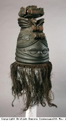 Mask of Sande Society from Mende people