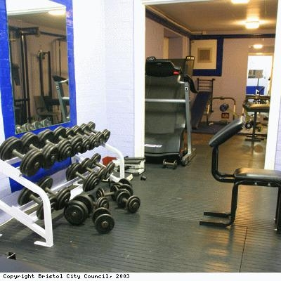 Mill Youth Centre, gym