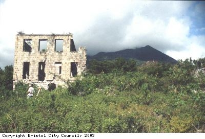 Mountravers House and Nevis Peak