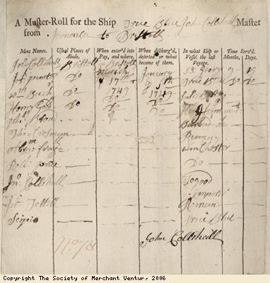 Muster roll
