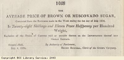 Newspaper extract, brown sugar