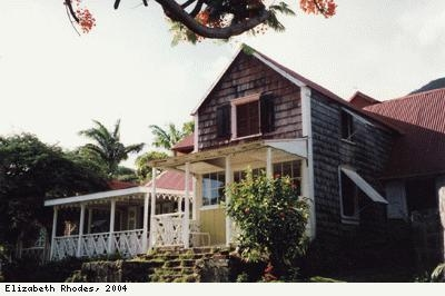 Oldest wooden house on Nevis