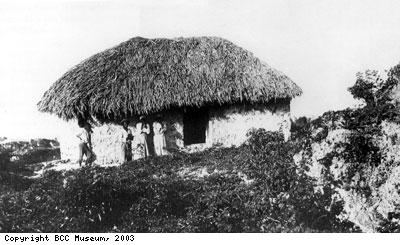One of the last slave huts on Barbados