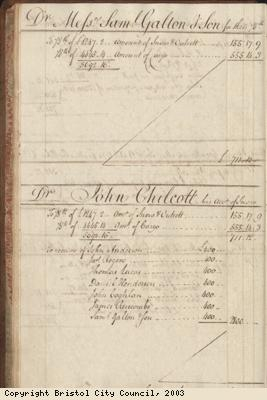 Page 22 from log book of ship Africa