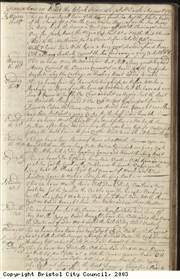 Page 37 of log book of Black Prince