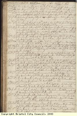 Page 48 of log book of Black Prince