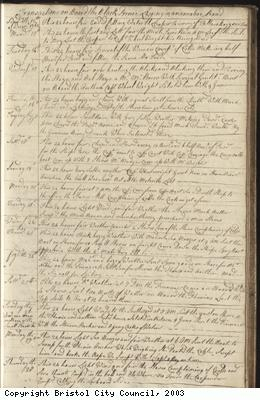 Page 49 of log book of Black Prince