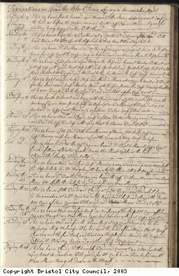 Page 51 of log book of Black Prince