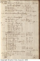 Page 5 from log book of ship Africa