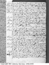 Page 5 (left) from log book of Black Prince