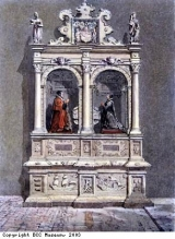 Painting of tomb