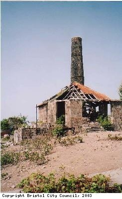 Photograph of chimney on plantation