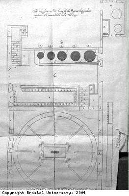 Plan of sugar mill and boiling house