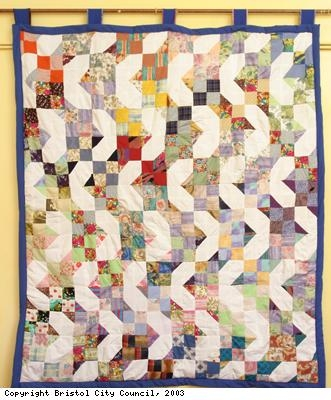 Quilt made by the Golden Agers Club